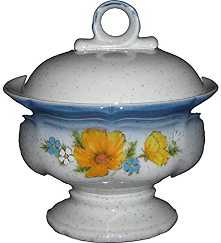 Mikasa - Amy CA503 - Country Club - Sugar Bowl WITHOUT LID - Mikasa Amy Country Club