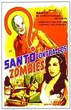 Invasion of the Zombies Poster Movie Mexican 11x17 Santo Armando Silvestre Jaime Fernßndez