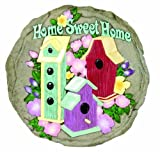 Spoontiques 13370 Sweet Home Stepping Stone, Multi For Sale