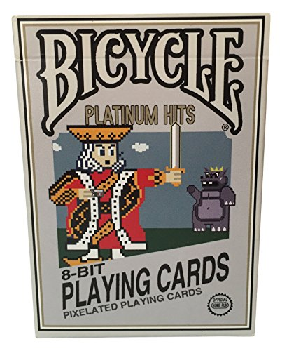 8-bit Platinum Playing Cards