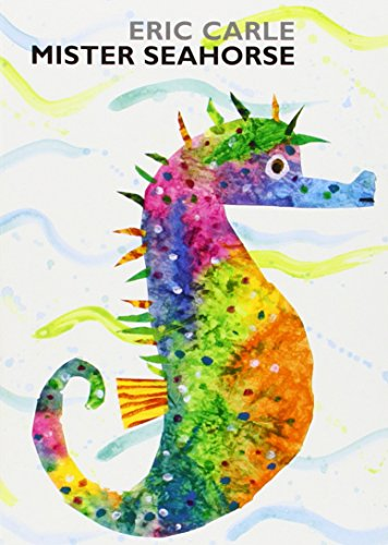 Mister Seahorse: board book (World of Eric Carle) cover