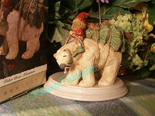 Hallmark Folk Art Polar Bear Adventure - Rare Ornament dated 1993