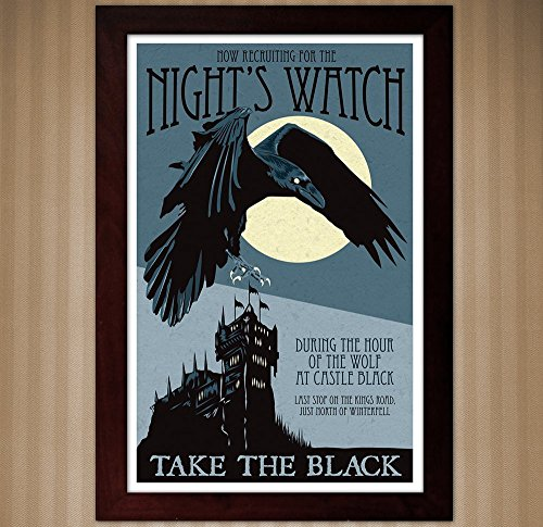 Night's Watch Recruitment Poster - Game