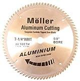 7-1/4'' x 80T Aluminum Cutting Circular Saw TCT Blade