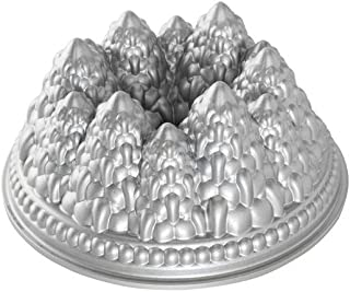 product image for Nordic Ware Pine Forest Bundt Pan, Metallic