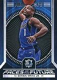 #8: 2017-18 Panini Hoops Faces of the Future #9 Dennis Smith Jr. Dallas Mavericks Basketball Card