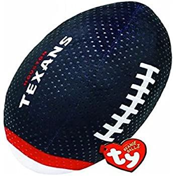 Ty Beanie Ballz NFL RZ Houston Texans Football Plush