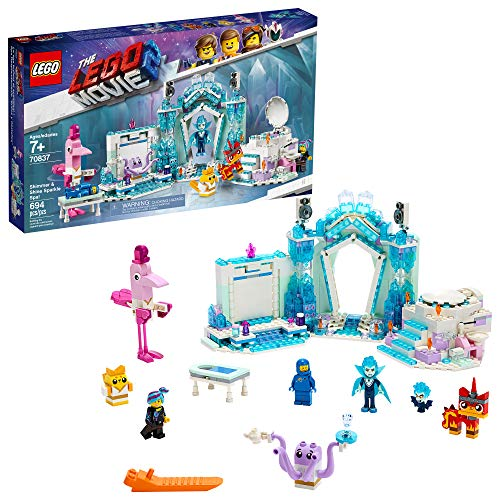 THE LEGO MOVIE 2 Shimmer & Shine Sparkle Spa! 70837 Building Kit, New 2019 (691 Pieces)
