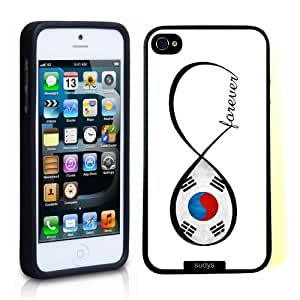 SudysAccessories South Korean Forever South Korea Flag Infinity Forever ThinShell Case Protective iPhone 5 Case iPhone 5S Case