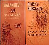 Rimsky Korsakov: Ivan the Terrible Suite. Balakirev Tamar. Fistoulari/ LSO . LP
