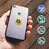 KeeperOn Quantum Shield Anti Radiation | 6-Pack New Box 2020 | Cell Phone EMF Protection | EMF Sticker | Anti Radiation Sticker | Protect Your Family with Phone Radiation Blocker Sticker