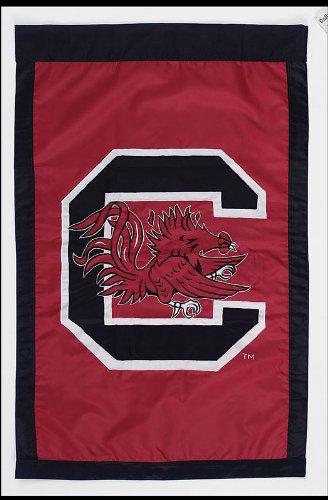 (Applique University Of South Carolina Gamecocks House Flag)