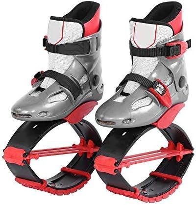 Solome 女性男性ジャンプはスリミングボディシェーピング靴スポーツフィットネスアクセサリーグレーレッドシューズ36-38