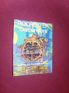 Rochester Carburetors book by Bill Fisher