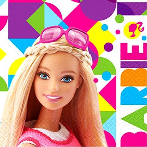 Anagram Barbie 'Sparkle' Lunch Napkins (16ct)]()