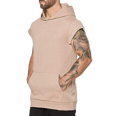 SamMoSon2019 Hombre Chalecos de Athletic sin Mangas T Shirt: Amazon.es: Ropa y accesorios