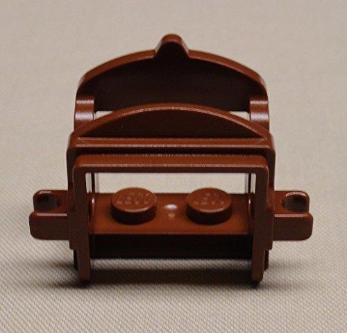- LEGO Reddish Brown Saddle for Minifigure Horse Animal x1 Loose
