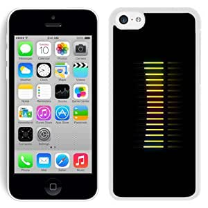 NEW Unique Custom Designed iPhone 5C Phone Case With Turn Up The Volume_White Phone Case