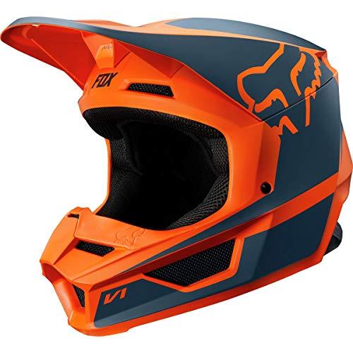 2019 Fox Racing V1 Przm Off-Road Motorcycle Helmet - Orange/Small