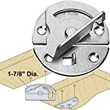 Woodtek 170159, 10-Pack, Hardware, Table, Table Locks, Eccentric Action Table Lock