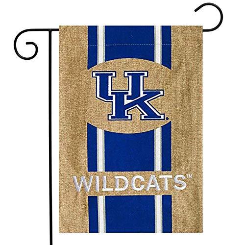 Kentucky Wildcats Official NCAA 12.5 inch x 18 inch Team Burlap Garden Flag