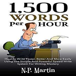 1500 Words Per Hour Audiobook