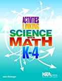 img - for Activities Linking Science With Math, K-4 (PB236X) book / textbook / text book
