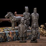 Replica of world famous Qin Dynasty Terra cotta Warriors, also known as the 8th wonder of the world. Background: Chin She Huang, the first Emperor of China. He conquered and united China to become its First Emperor. He built the Great Wall an...