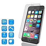 """iPhone 6 (4.7"""" Only) Tempered Glass Screen Protector, Ebestsale(TM) Premium 2.5D Round Edge 9H Hardness 0.3mm Thickness HD Clear Ballistic Film"""