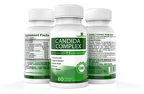 CANDIDA COMPLEX 60 Premium Supplements to help you REPLACE & RESTORE the...
