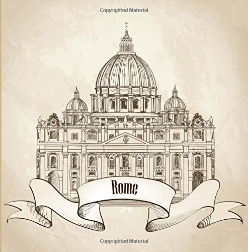 Download Rome: Travel Scrapbook and Memory Journal with Photo Pages-Full Color pdf epub