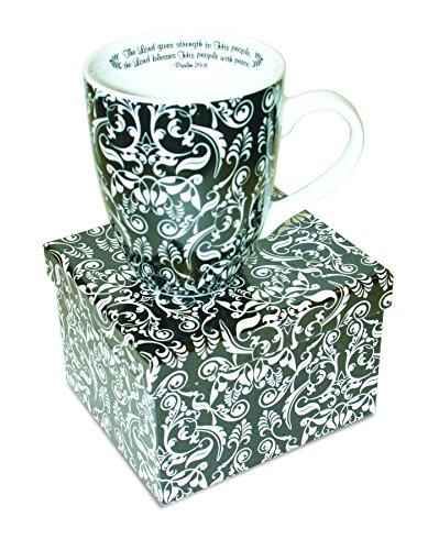 Divinity Boutique Inspirational Ceramic Damask