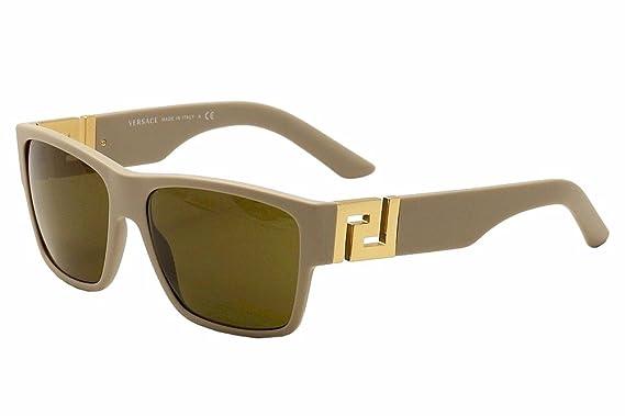 6a7d357792 Amazon.com  Versace 4296 514673 Sand Beige 4296 Wayfarer Sunglasses ...