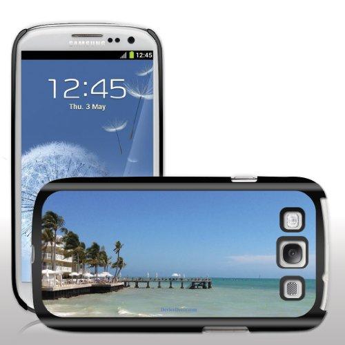 Samsung Galaxy S3 Case   Key West   Seaside Resort   Black Protective Hard Case