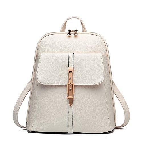 G-AVERIL GA1065-P - Bolso mochila para mujer rosa rosa blanco