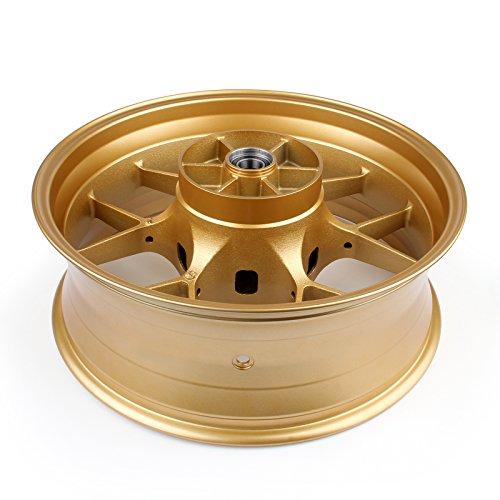 Artudatech Rear Wheel Rim For Honda CBR1000RR CBR 1000RR 2008-2014 Gold by Artudatech (Image #4)