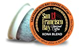 San Francisco Bay OneCup, Kona Blend, 80 Count- Single Serve Coffee, Compatible with Keurig K-cup Brewers