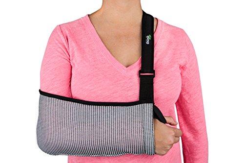 Think Ergo Arm Sling Sport Extra Small - Ergonomic, Lightweight, Breathable Mesh, Neoprene Padded Strap, Youth and Extra Small (Strap Arm Sling)
