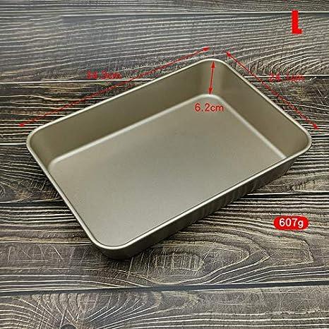 SEKULA Antihaft-Backform Rechteckige Kuchenform Mehrzweck-Schnellverschluss-Kuchenbrot-Toast-Backform