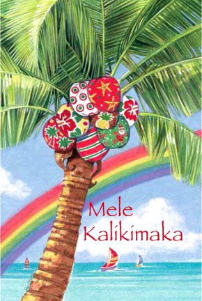 Amazoncom Coconut Gifts Hawaiian Palm Tree Christmas Cards Box