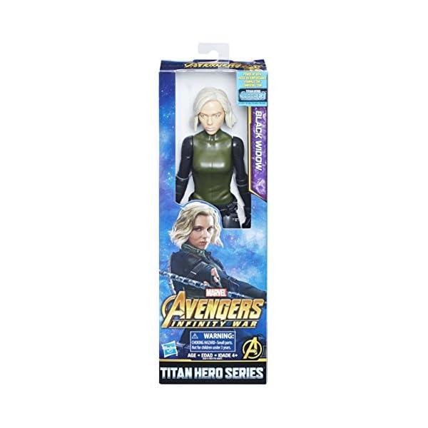 51RIuntJdUL Marvel Infinity War Titan Hero Series Black Widow with Titan Hero Power FX Port