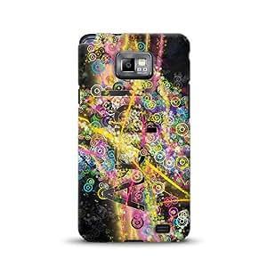 Diabloskinz D0055-0007-0003 - Carcasa impresa para Samsung Galaxy S2, diseño de manzana