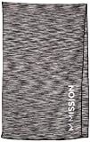 MISSION Premium Cooling Towel, ONE SIZE, Charcoal Space Dye