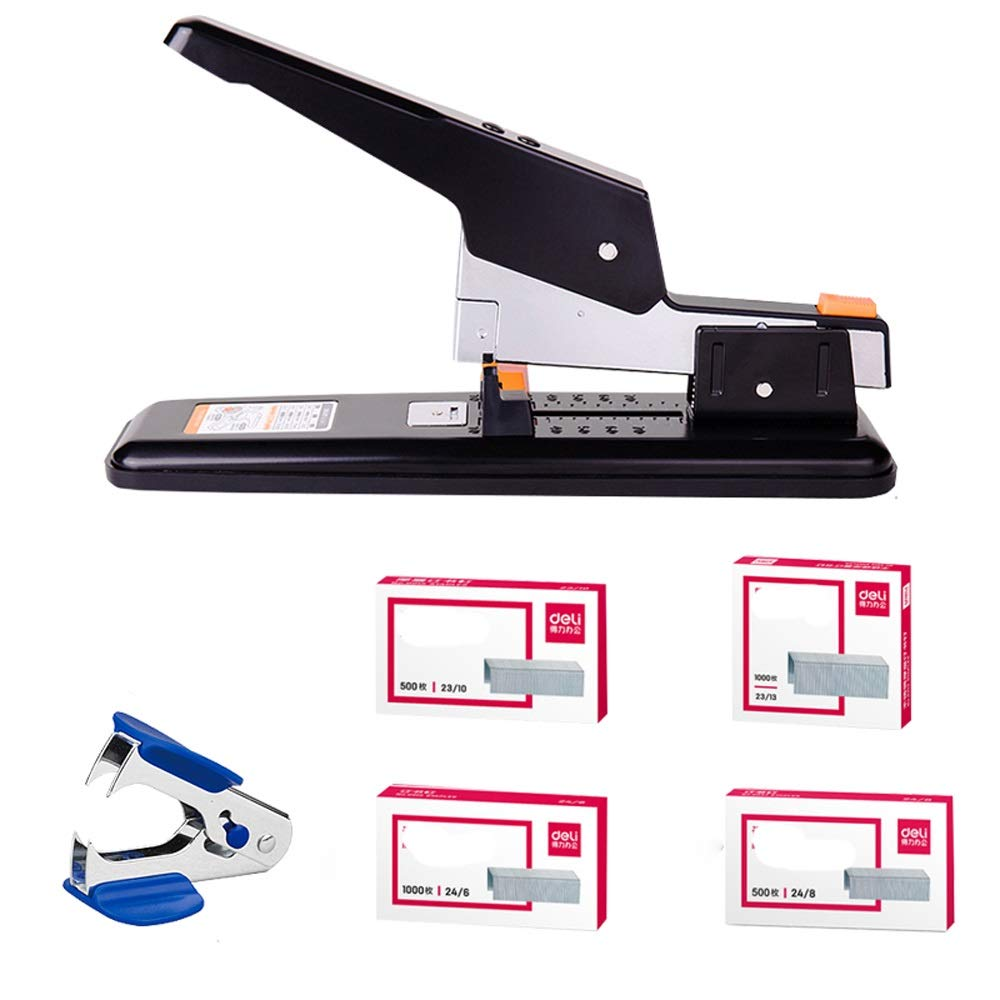 Office Supplies Stapler Large Heavy-Duty Thickening Binding Machine Large Labor Saving (Size : C) by Stapler