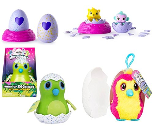 Fairy Wings Costume Walmart - Hatchimals Wind-up Egglider with Lights & Sound Watch as your Egglider Moves TOYS R US CollEGGtibles Season 1 2-Pack + Nest, JRER New Hatchimals Mystery Minis Mini Plush Clip-On