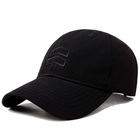 UAOOK Sombrero de béisbol sólido clásico estilo polo for hombre ...