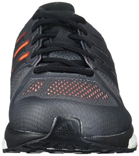 Adidas Performance Mens Supernova St M Scarpa Da Corsa Grigio Quattro / Nero / Arancione Solare