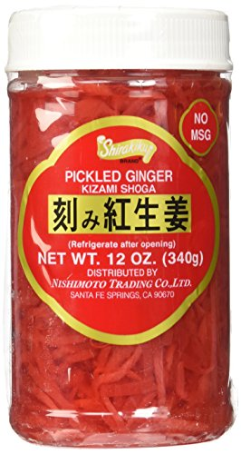 Kizami Shoga (Pickled Ginger) - 12oz by Shirakiku.