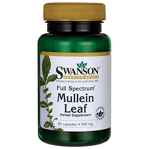 Full Spectrum Mullein Leaf Caps
