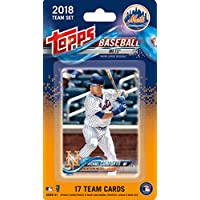 fan products of New York Mets 2018 Topps Factory Sealed Special Edition 17 Card Team Set with Michael Conforto, Noah Syndergaard and Yoenis Cespedes Plus